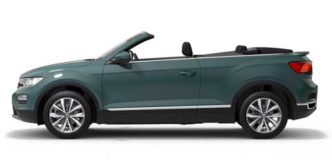 Volkswagen T-Roc Cabriolet - WE'LL PAY YOUR FIRST 3 MONTHS RENTAL